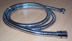 1.5 EXPANDABLE SHOWER HOSE ,EPDM TUBE , SS DOUBLE LOCK COVERIN