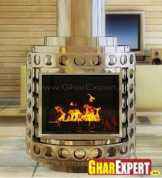 Shiny Fire Place