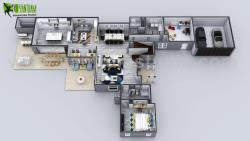 3D House Floor plan Designs, ideas, Images By Yantram 3d floor plan Vegas, USA