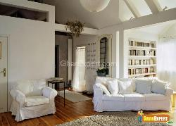 Calm Drawing Room with Study