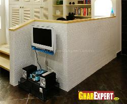 Living Room Partition Wall