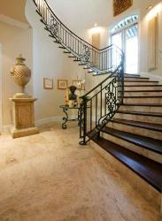 Stair Design and Marble floor