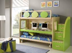Kids bed and storage