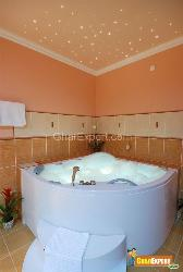 Take Pleasure in Jacuzzi and the Ceiling Like a Star Sky over