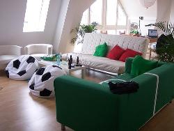 Bean Chairs In Living