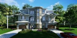 3D Exterior Residential House