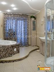 Matching Curtains and Bathtub