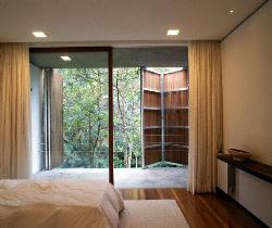 Bedroom Door with glass