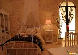 French Italian Bedroom