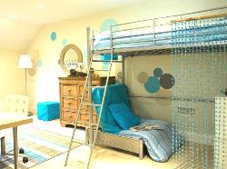 Look at the modular bunk bed for kids room