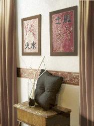 Wall Decor with Photo Frames