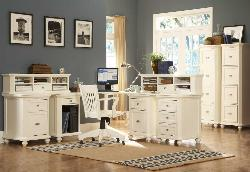 Office Furniture in White Theme