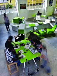 Green Theme Office Furniture