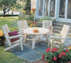 Natural Look Outdoor Furniture