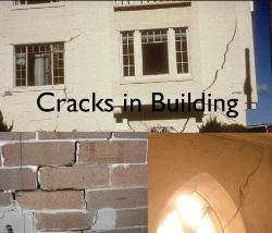 Types of Cracks in the Building