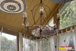 Chandelier for patio