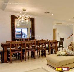 10 seater dining table in wood