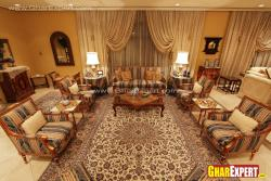Chic style interior for formal drawing room