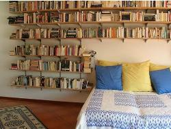 Book case style for teen room