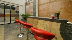 Stone Veneer/Skin Application at Counter