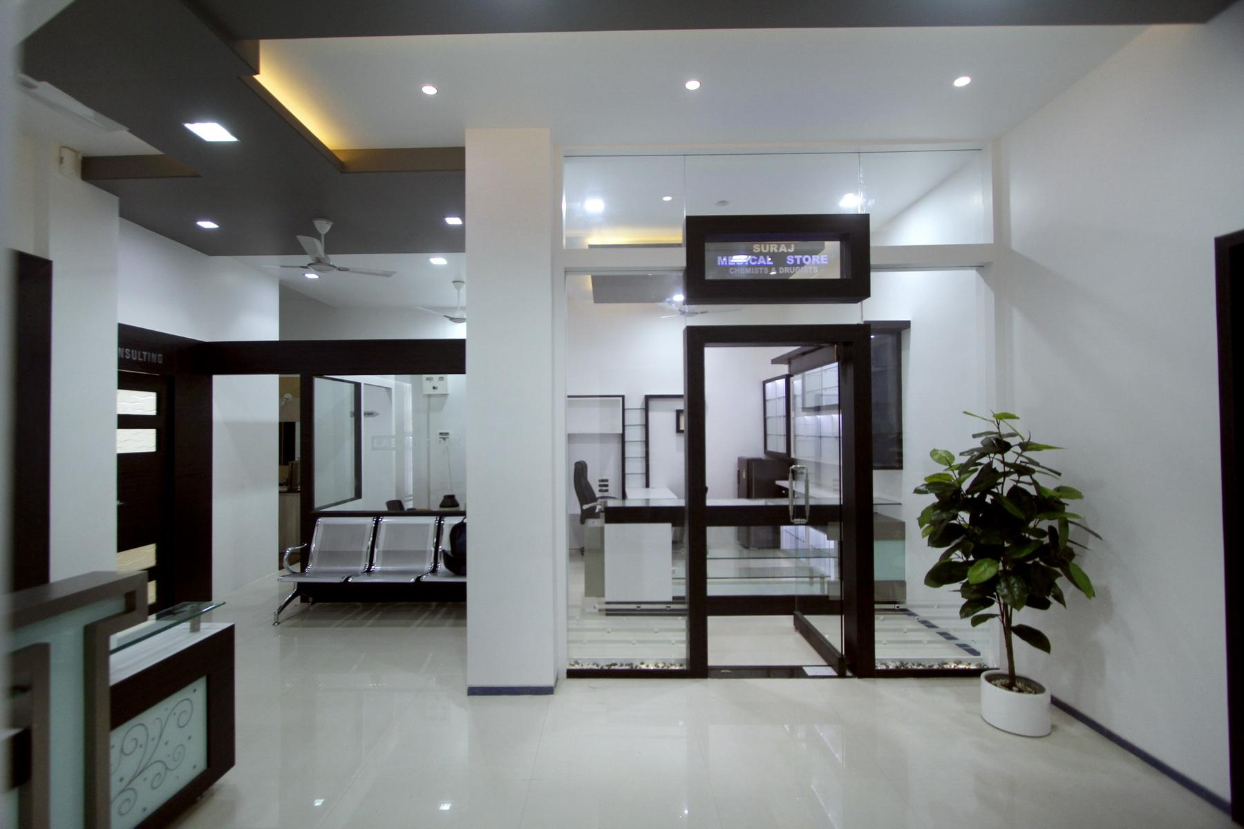 Skin care clinic-medical store....