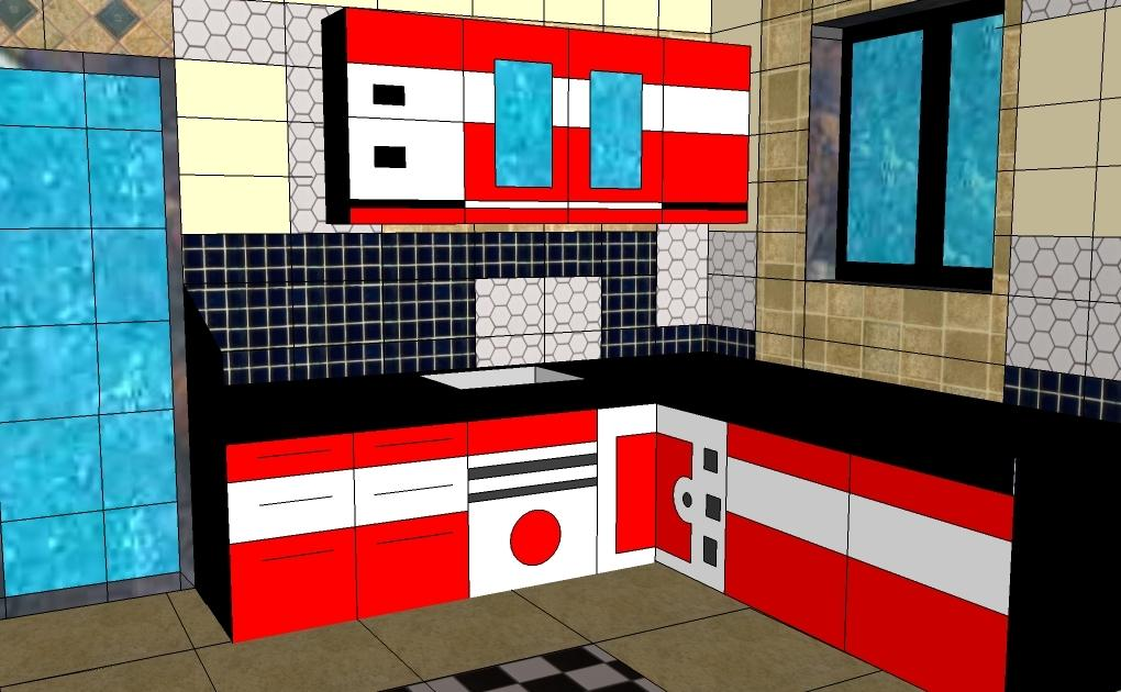 Compact kitchen plat form with....
