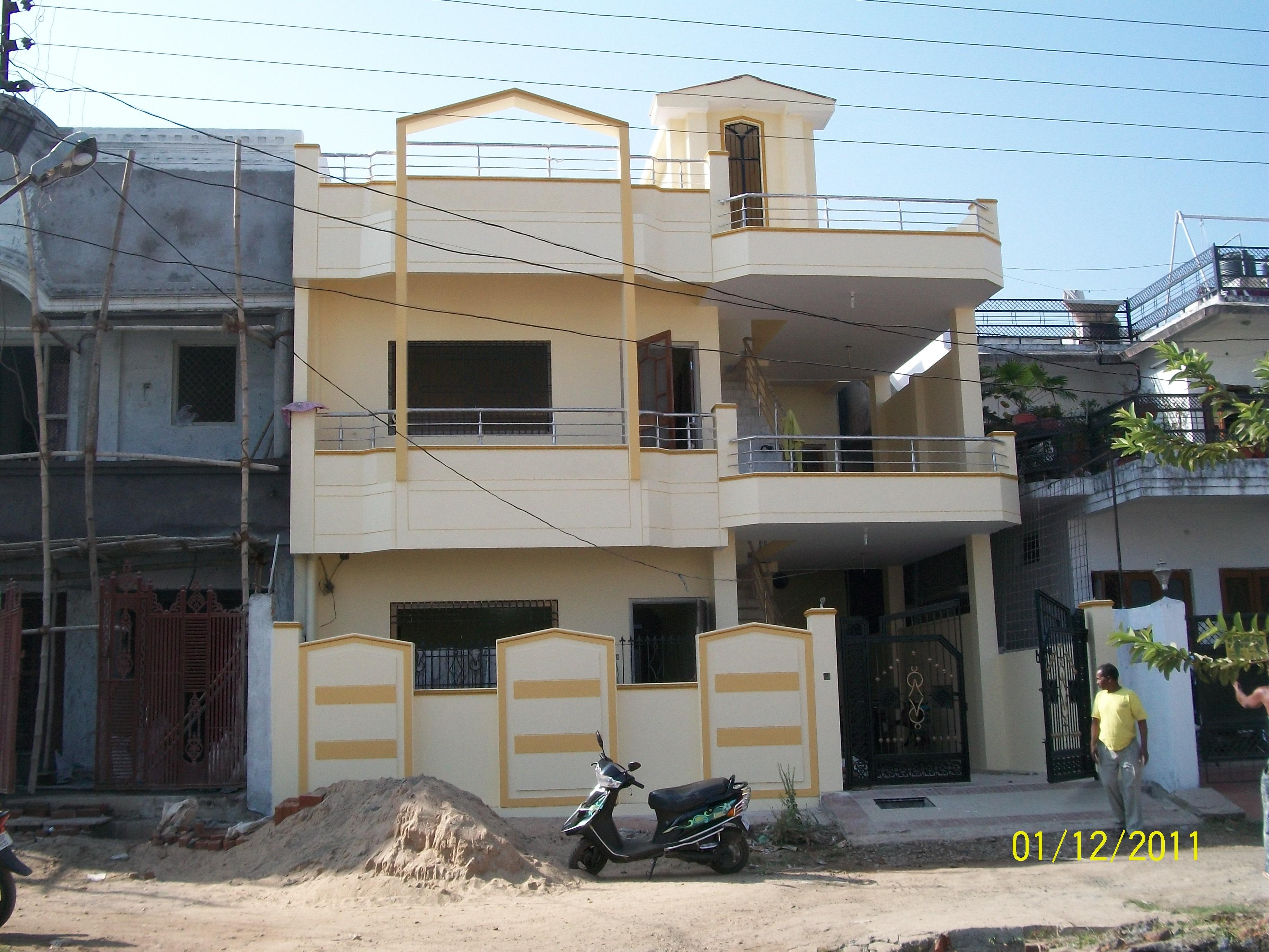 2 BHK on each floor with Exter....