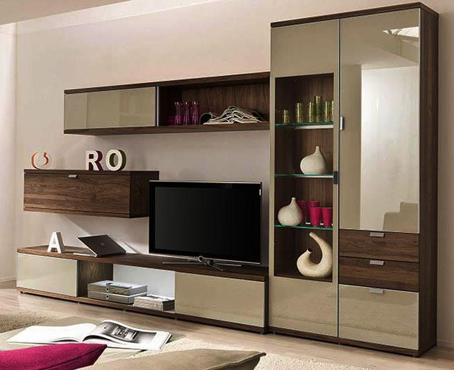 Lcd stand and closet design