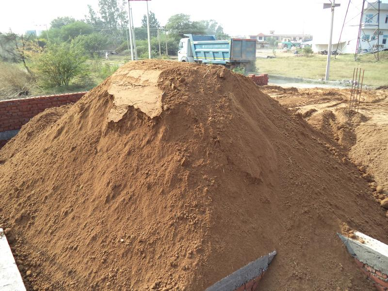 Soil Filling and Compaction.