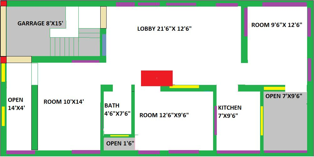 house plan for 25