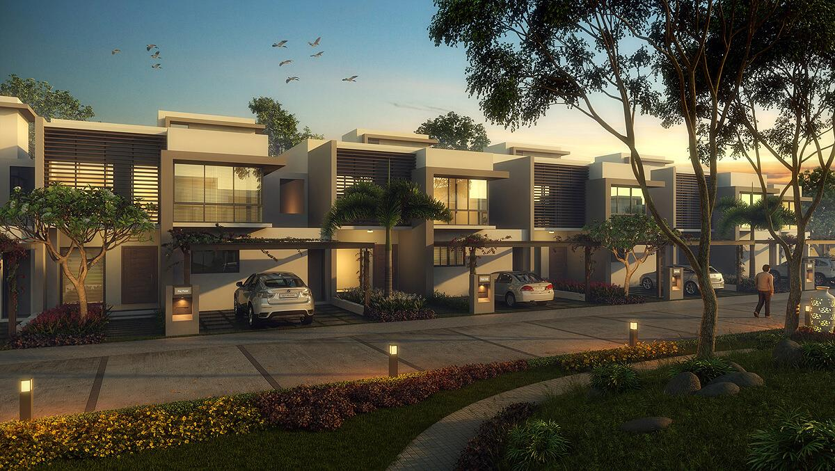 3D Residential Appartment Nigh....