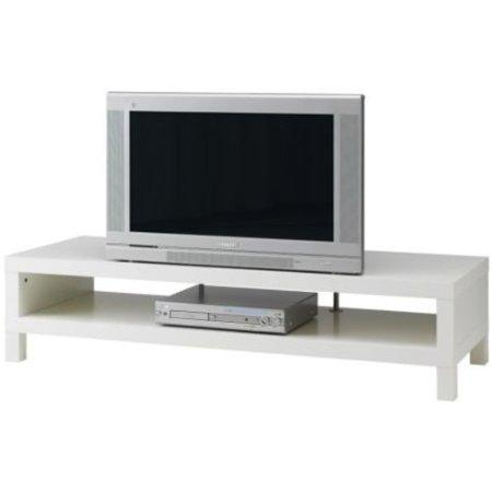 low height TV unit in white co....
