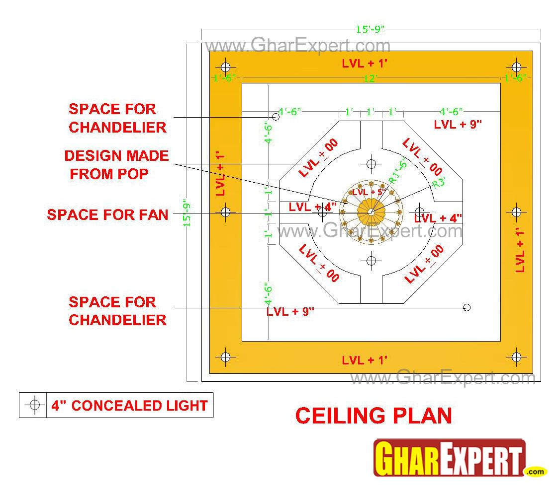 POP false ceiling design with ....