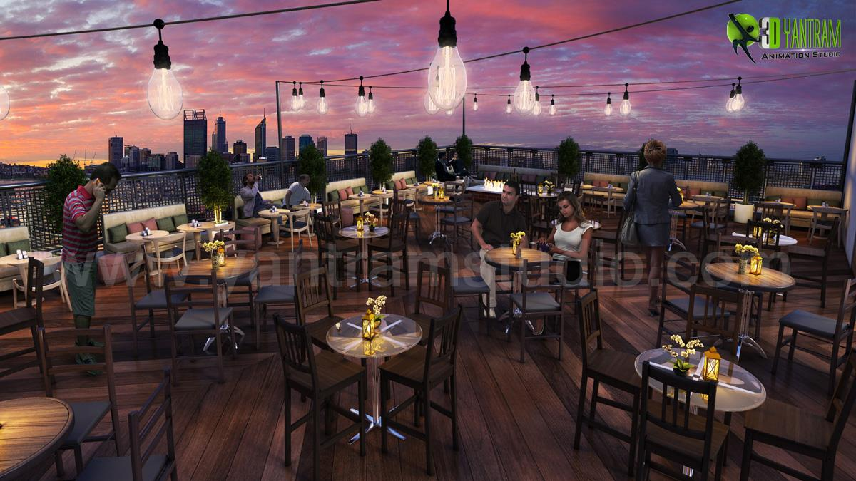 Rooftop Layout Lounge