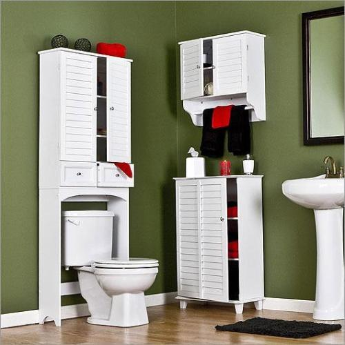 bathroom cabinet, WC and bathr....