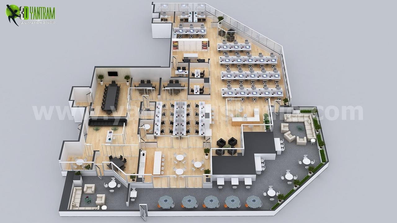 Office Space Interactive 3D Vi....