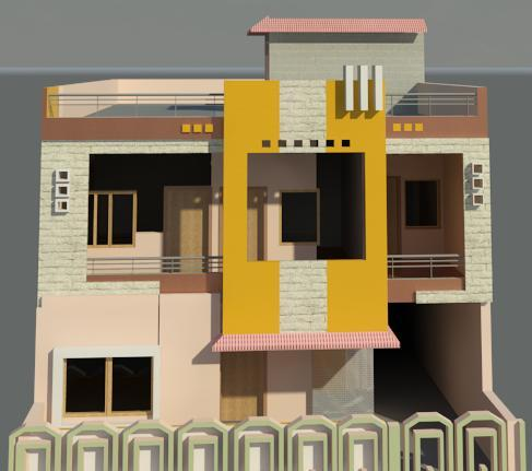 Front Elevation of 30
