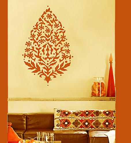 paint stenciling pattern