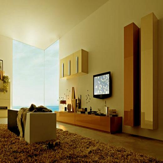 lcd unit and modern cupboard f....