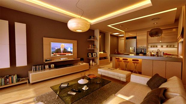 modern lcd wall unit for livin....