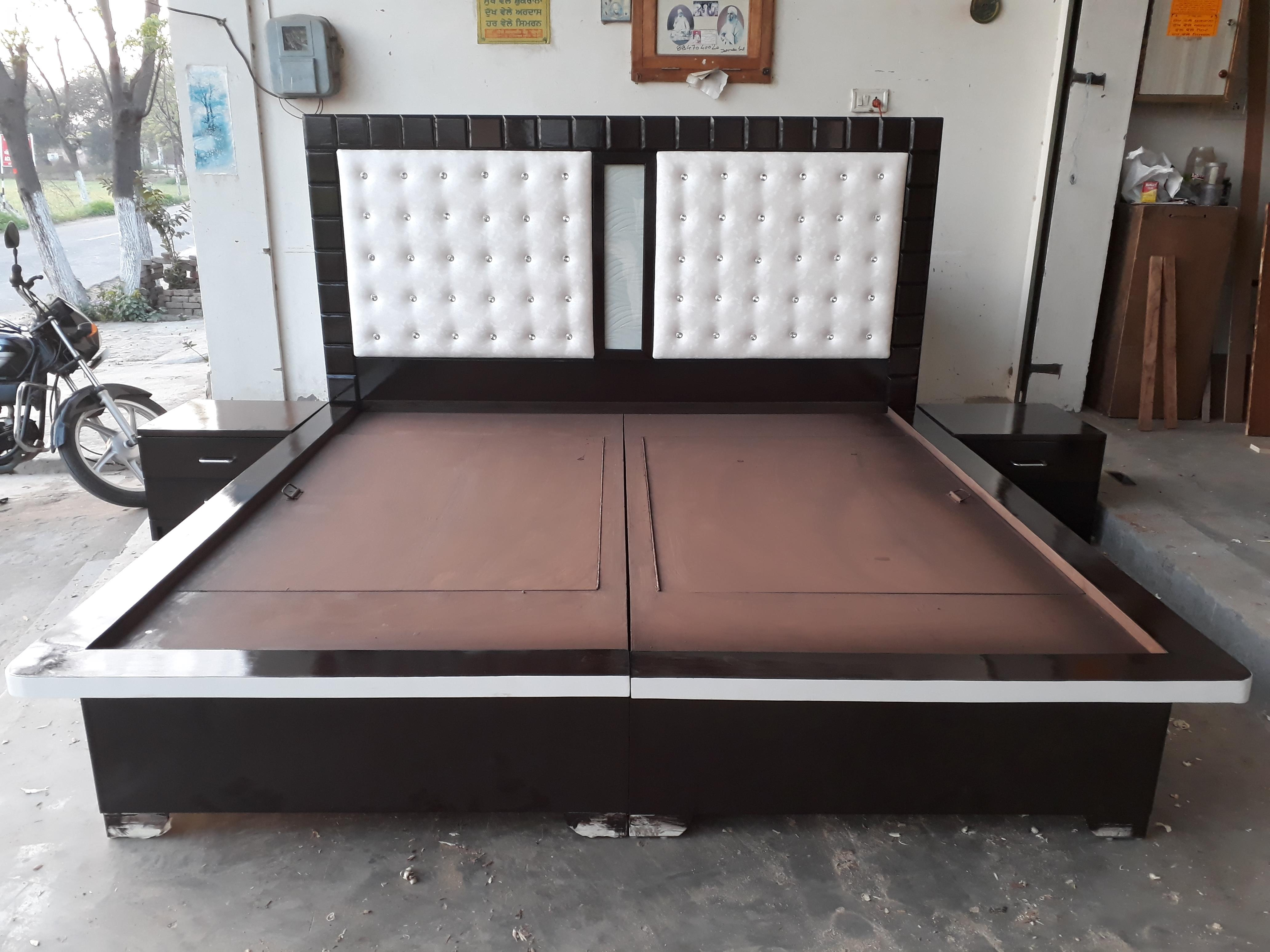Low height bed