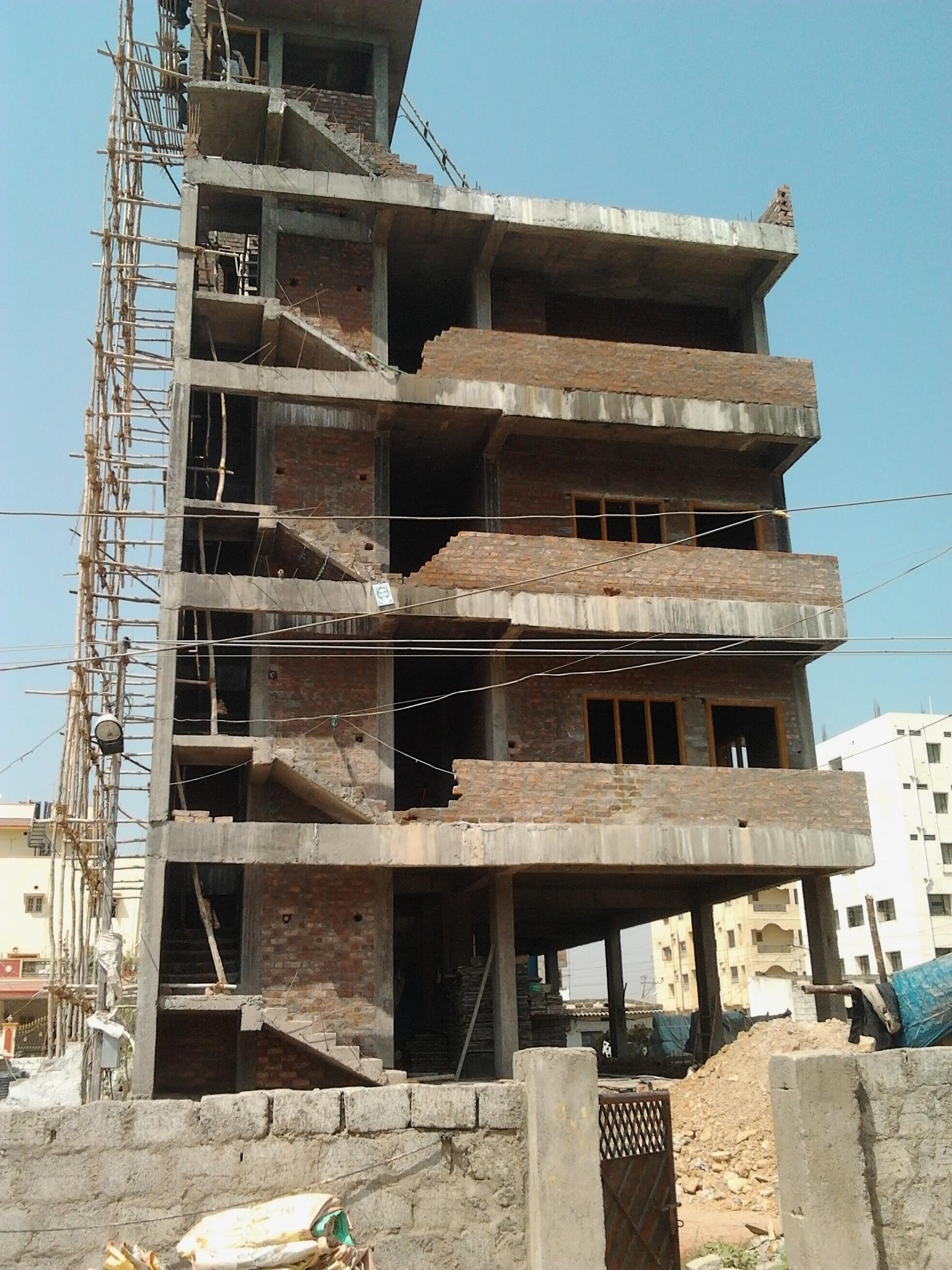 3 BHK per floor and 3rd flr + ....