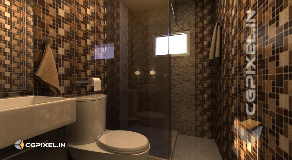 3D BATHROOM VIEW KOTA
