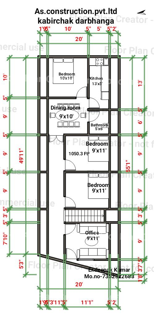 This is house plan ofv12