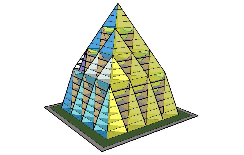 Pyramid upon pyramid (PUP)