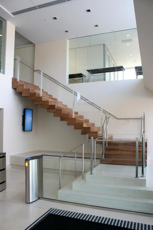 Stairs sample in a Lobby