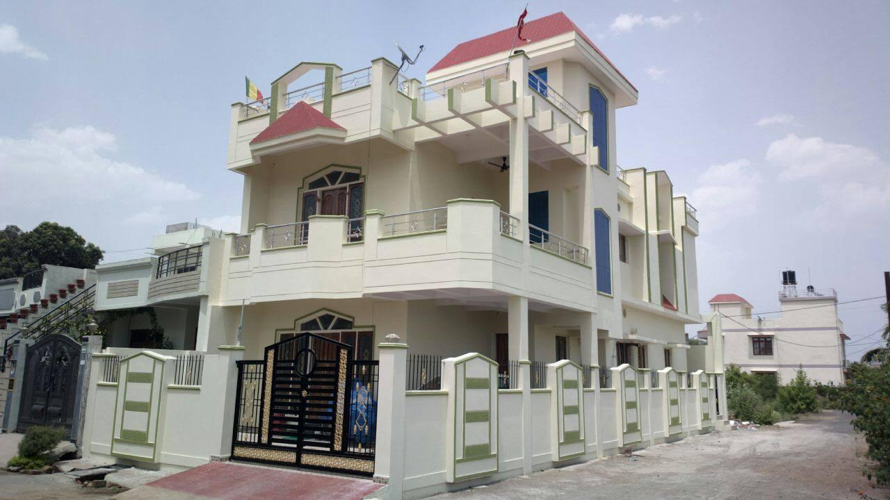 Duplex house,4bhk,corner plot,....