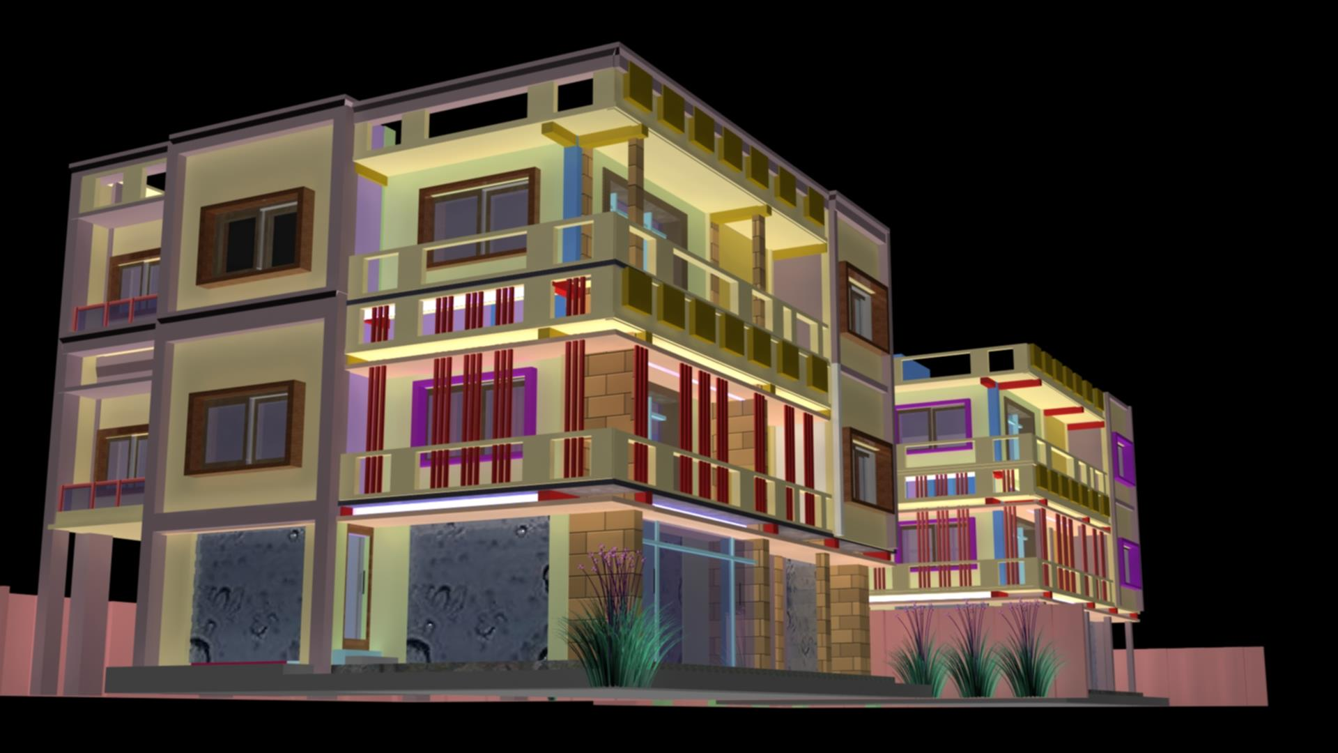 apartment design in yeola