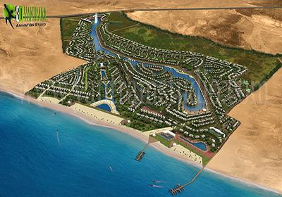 Residential 3D Arial View