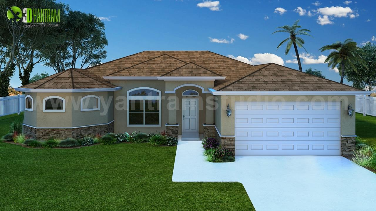 Modern Small House Rendering L....